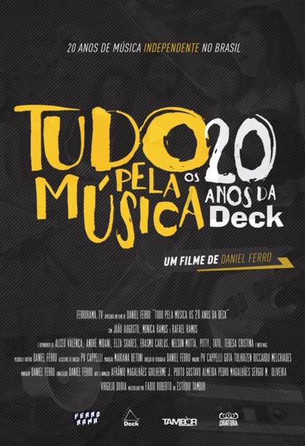 """Festival In-Edit exibe documentário """"Tudo pela Música (Os 20 Anos da Deck)"""""""