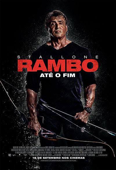 """Lançamento de teaser e cartaz brasileiro de """"Rambo: Até o fim"""""""