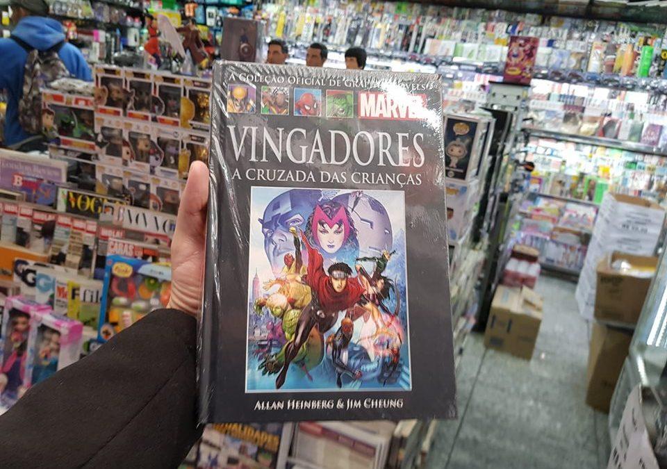 Vingadores: a censura da HQ e o livro esgotado